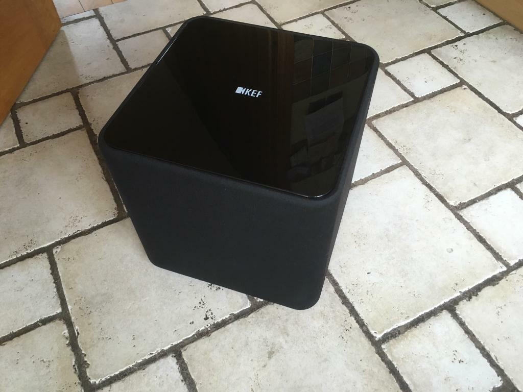kef kube 2. kef kube 2 powered subwoofer kef kube