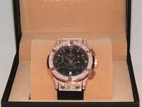 Hublot diamond watches ICED OUT