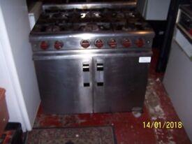 6 burner cooker gas