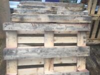 6 Free Wooden Pallets to give away