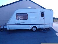 STERLING EUROPA 460 2004 CARAVAN WITH AWNING AND MOVER