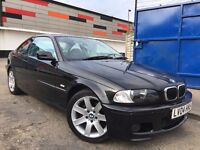 BMW 3 Series 2.0 318Ci M Sport, Full Service History,Long MOT 3 Months Warranty just been Serviced