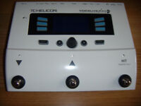 FOR SALE TC HELICON VOICELIVE PLAY GTX GUITAR AND VOICE EFFECT
