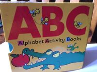 ABC alphabet activity books for young kids