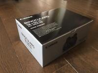 Brand new canon 18x50 is binoculars. 2 year warranty!