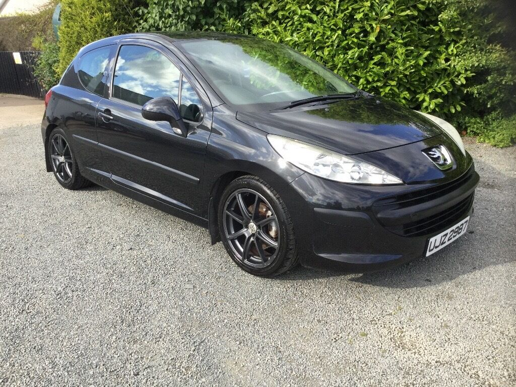 2007 Peugeot 207 1.4 super condition 87000 miles mot march 2018 cookstown