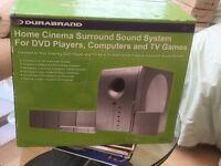 Durabrand home cinema surround system