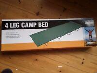 Milestone 4 leg camp bed