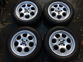 "15"" inch Genuine Full Set of Alloy Wheels 7 Hole 81 for Mini - 1512458"