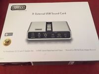 Sweex 7.1 External USB Sound Card