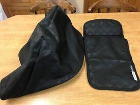 Bugaboo Buffalo tailored fabrics - black chevrons special edition