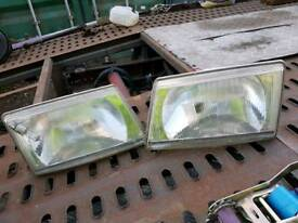 LDV CONVOY HEADLAMPS. GOOD CONDITION.
