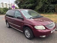 Chrysler Grand Voyager 2.5 CRD Limited. Selling as spares/repairs or for salvage/scrap man