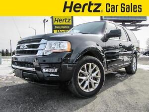 2015 Ford Expedition Ltd 4X4, 8 Seat, Moonroof, 3.5L Ecoboost