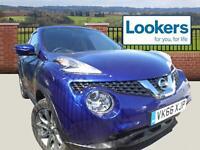 Nissan Juke TEKNA DCI (blue) 2016-09-30