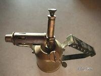 Small Brass Blow Lamp
