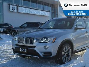 2016 BMW X3 xDrive28i Premium Package Enhanced Technology Pack