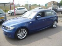 BMW 120D M Sport,5 door hatchback,6 speed,FSH,great looking car,all the M Sport extras,great mpg