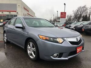 2011 Acura TSX PREMIUM | LEATHER | HEATED SEATS | ALLOYS |