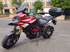 DUCATI MULTISTRADA PIKES PEAK 1200!!!#amazing condition touring bike with all 3 luggage