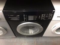 BOSCH 7KG WASHING MACHINE BLACK RECONDITIONED
