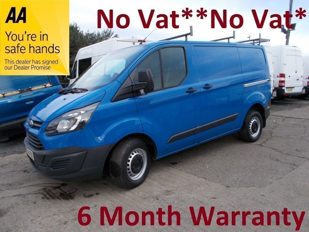 1f2ce00e02e54a Ford Transit Custom 2.2 TDCi 100 270 SWB L Roof  NO VAT  NO VAT  NO  VAT  FULL SERV HIST  MOT JUNE 19