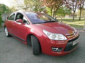 CHEAP RUNABOUT 58 Reg Citroen C4 1.6VTR Plus 5dr 12 months Mot Hpi clear Cheap Tax Petrol Insurance