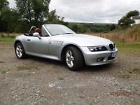 BMW Z3 1.9 in superb condition with nearly £1000 of upgrades