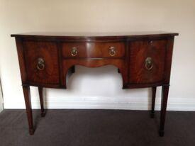 Regency-Style Mahogany Sideboard