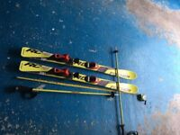 Kids Skiis and Poles