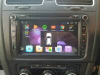 "VW GOLF MK6 8"" ANDROID HIGH END STEREO BRAND NEW (free fitting service)"