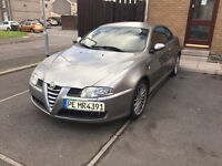 Left hand drive ALFA ROMEO GT 2.0 jts 68000 miles PERFECT condition LHD BOSE FULL SERVICE history