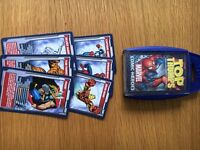 Top Trumps MARVEL MAX (The Story of their Universe) & MARVEL COMIC HEROES Cards