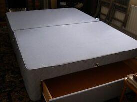 Double bed divan base
