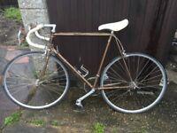Vintage Bicycle Columbus sprint gold