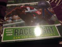 Host your own RACE NIGHT DVD Game. New and sealed.
