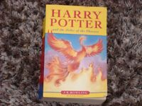 Harry Potter and the order of the phoenix paperback book