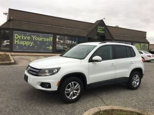 2015 Volkswagen Tiguan TRENDLINE / HEATED SEATS / ALLOY RIMS / F