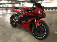 2007 Yamaha r6 **custom one off *** facelift model*** cheapest online