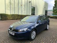 VOLKSWAGEN GOLF 1.6 TDI BLUEMOTION TECH £20 TAX