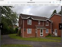 1st floor furnished flat (no agent, from earlyApril) close to Hook Villagecentre