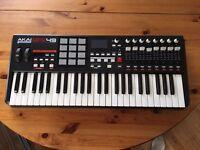 Akai MPK49 - USB Midi Controller / Keyboard - Used