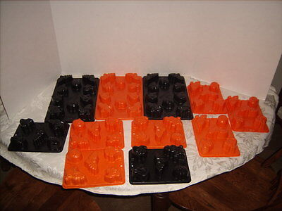 11 Halloween Jello Molds Pumpkin Ghost Bat Cat Witch Jello Jiggler Makes 70 Mold](Jello Jiggler Molds Halloween)