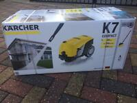 BRAND NEW BOXED KARCHER K7 COMPACT 160 BAR PRESSURE WASHER + HOME KIT CAR JET POWER WASHER