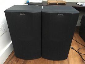 Sony Speakers x 2
