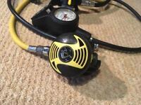 Scuba diving regulator set for sale