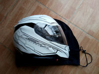 LIKE NEW £200+ Nexx XT1 Lotus Motorcycle Full Face with Sun Visor Helmet 3XL XXL
