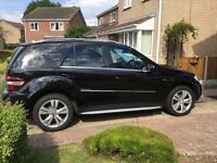 MERCEDES ML 350 CDI V6 3L DIESEL, MOT 9 MAY 2018.A very comfortable,reliable car to drive, travel in