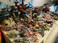 Vintage 80s action figure lot star wars etc