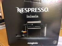 Nespresso Black Inissia Coffee Machine